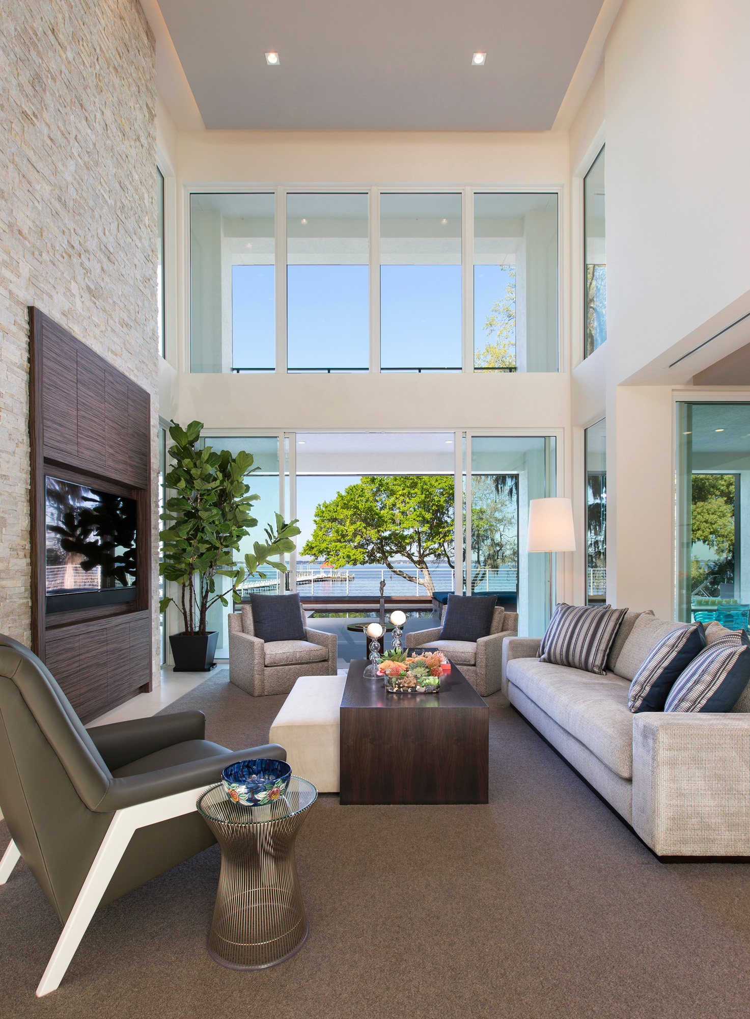 Modern Home Design By Phil Kean In Jacksonville, Florida