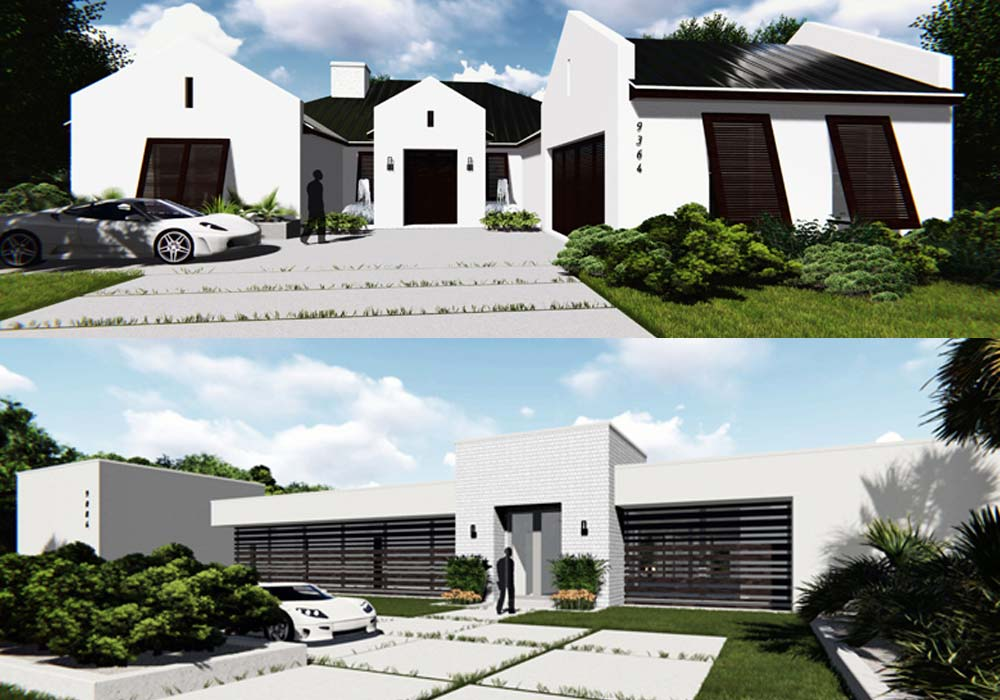 Design and build for nahb phil kean design group for New american home