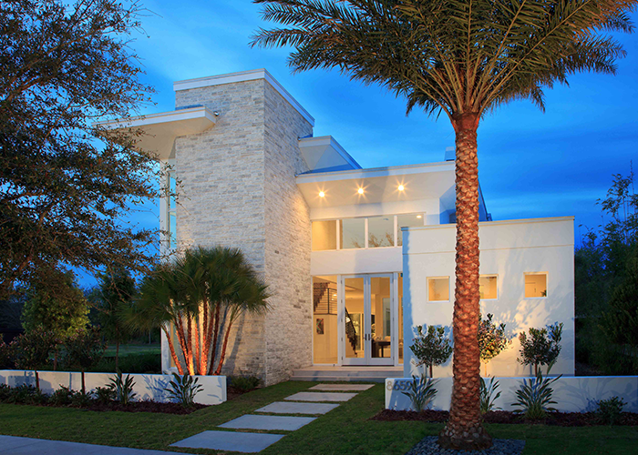 Contemporary architecture florida phil kean design group Modern custom home builders