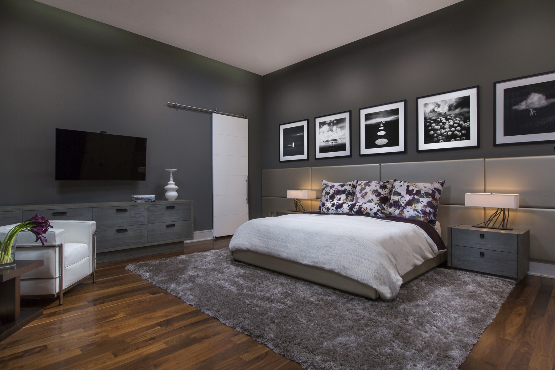 Modena custom residence phil kean design group - Master bedroom and bathroom paint colors ...